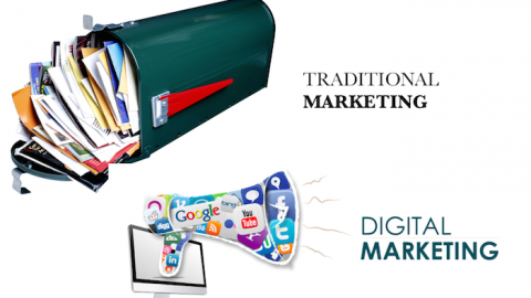 Digital marketing v/s Traditional Marketing