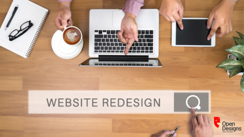 WEBSITE REDESIGN – FROM 'WHY?' TO 'WOW!'