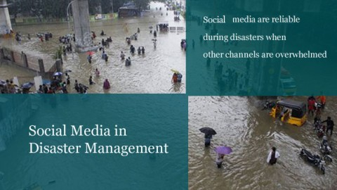 Redefining Communication- Role of Social Media in Disaster Management