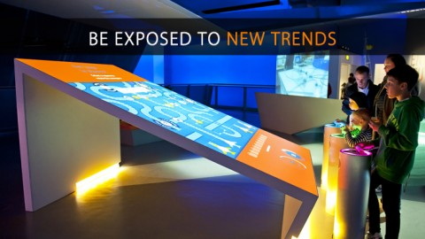 'New trends in exhibitions and how Miraj is a leader in exhibition and events in Middle East'.