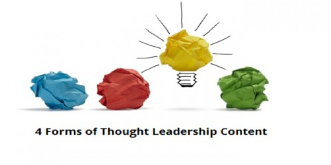 4 forms of thought leadership content