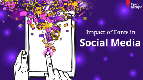 How font influences people in Social Media interaction & engagement