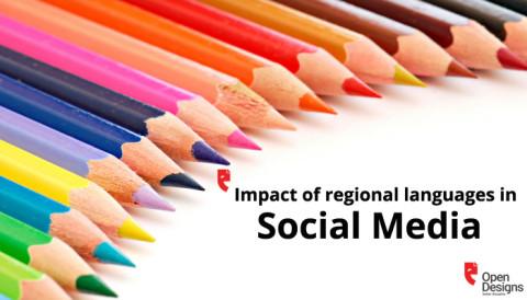 Impact of regional languages in Social Media