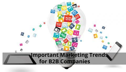 Major Marketing Trends for B2B Companies