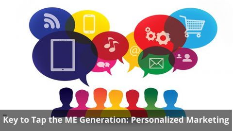 Key to Tap the ME Generation: Personalized Marketing