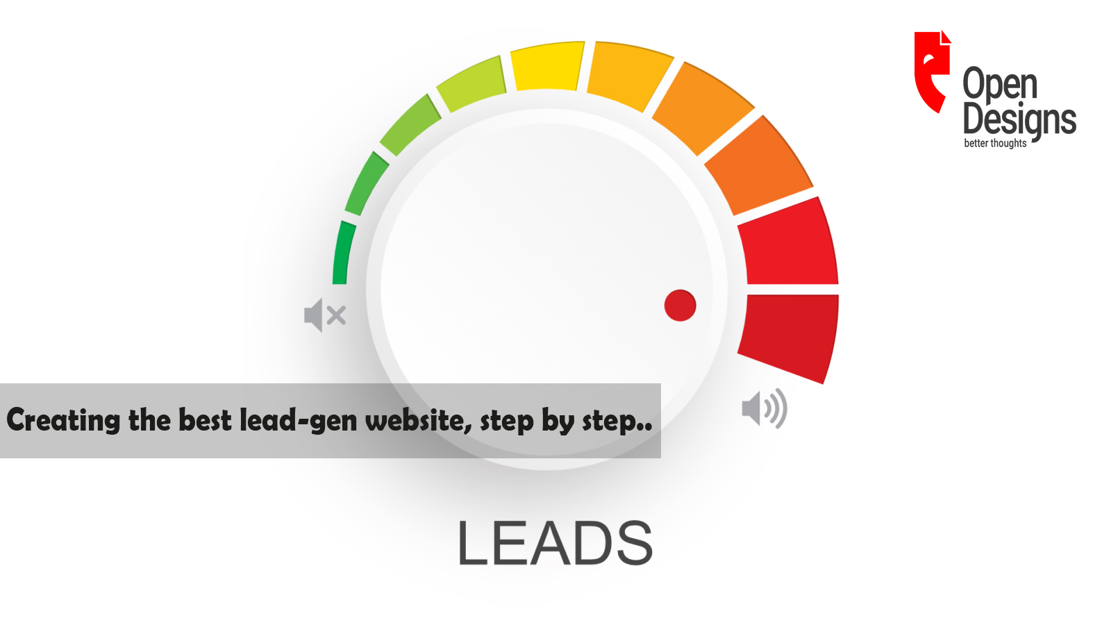 Creating the best lead-gen website, step by step..