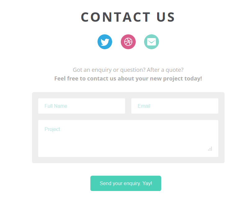 How to design a perfect and helpful contact page
